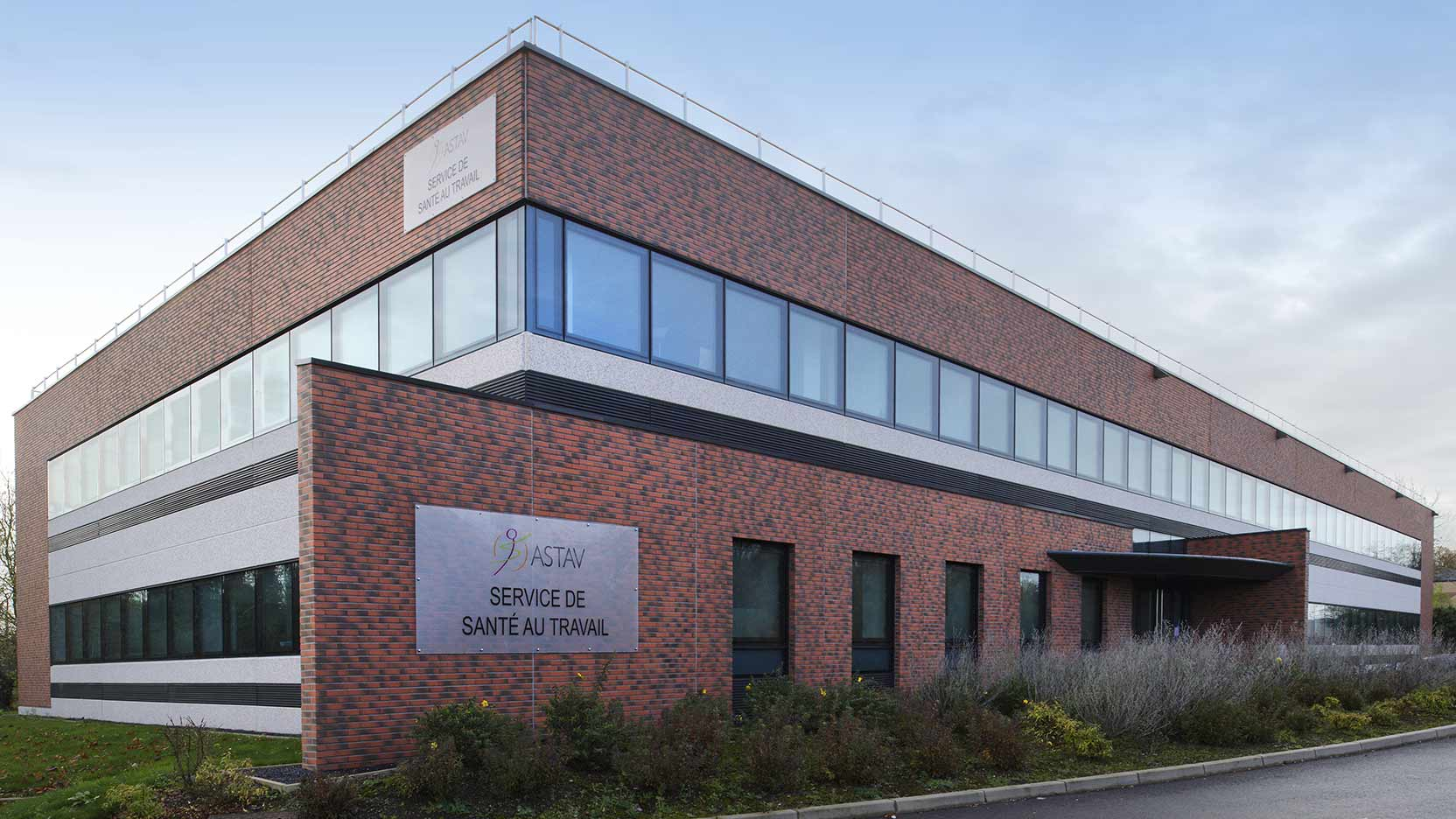 Medical offices for ASTAV, the Association for Health in the Workplace, in Valenciennes