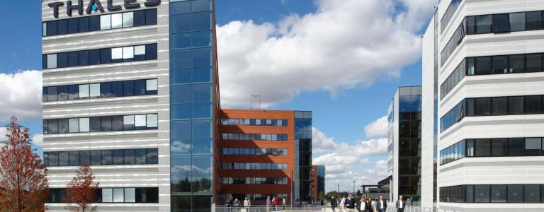 Campus Cristal Thales à Gennevilliers
