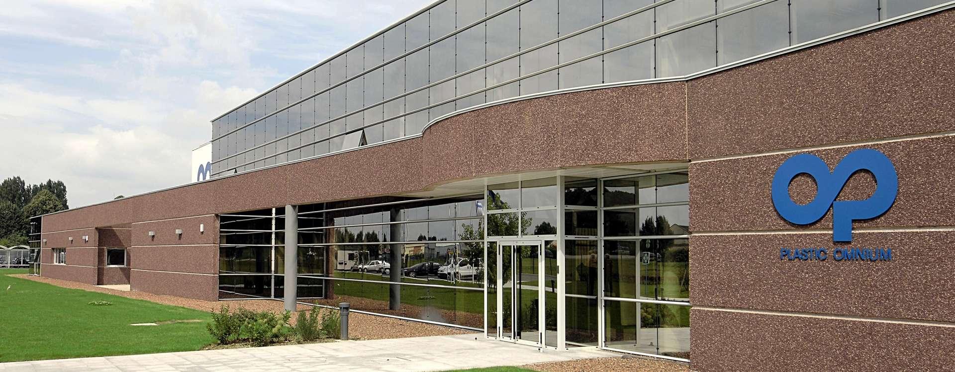 Plastic Omnium à Ruitz, le bâtiment industriel réalisé en 7 mois