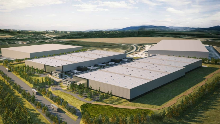 Aurore, 56,000 m² under commercialisation at the Aube Logistics Park
