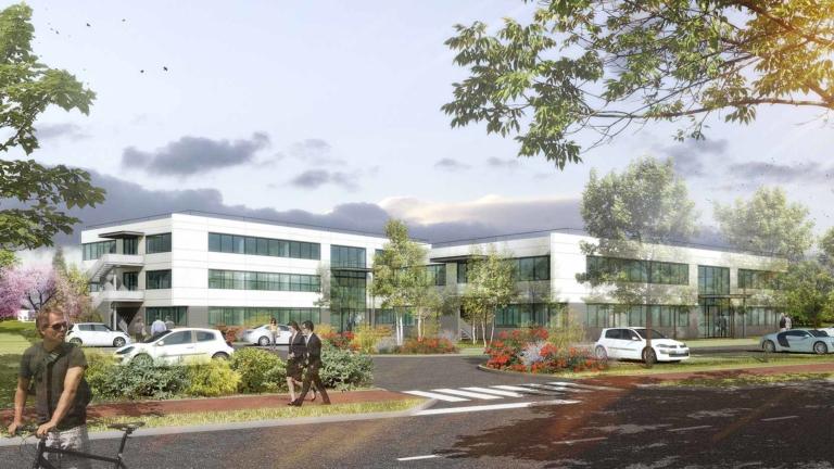 Bérénice, 1 800 m² de bureaux en commercialisation dans le Parc d'innovation à Illkirch