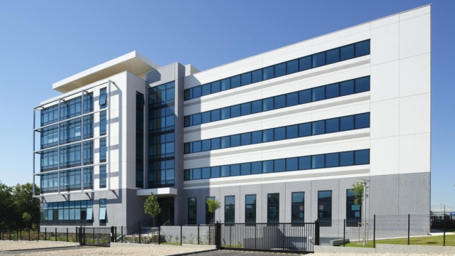 The Camille Doncieux corporate office building, for lease in Bezons
