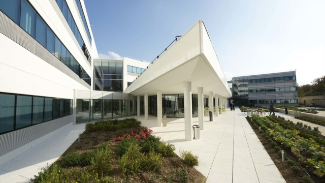 Canopée in Guyancourt, Sodexo's corporate office building