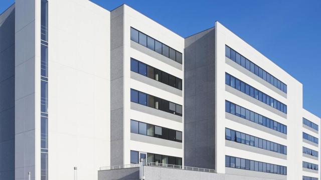 Concerto à Niort, l'immeuble d'entreprise de la MACIF