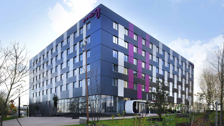 GA Smart Building produces the 1st MOXY Hotel in France