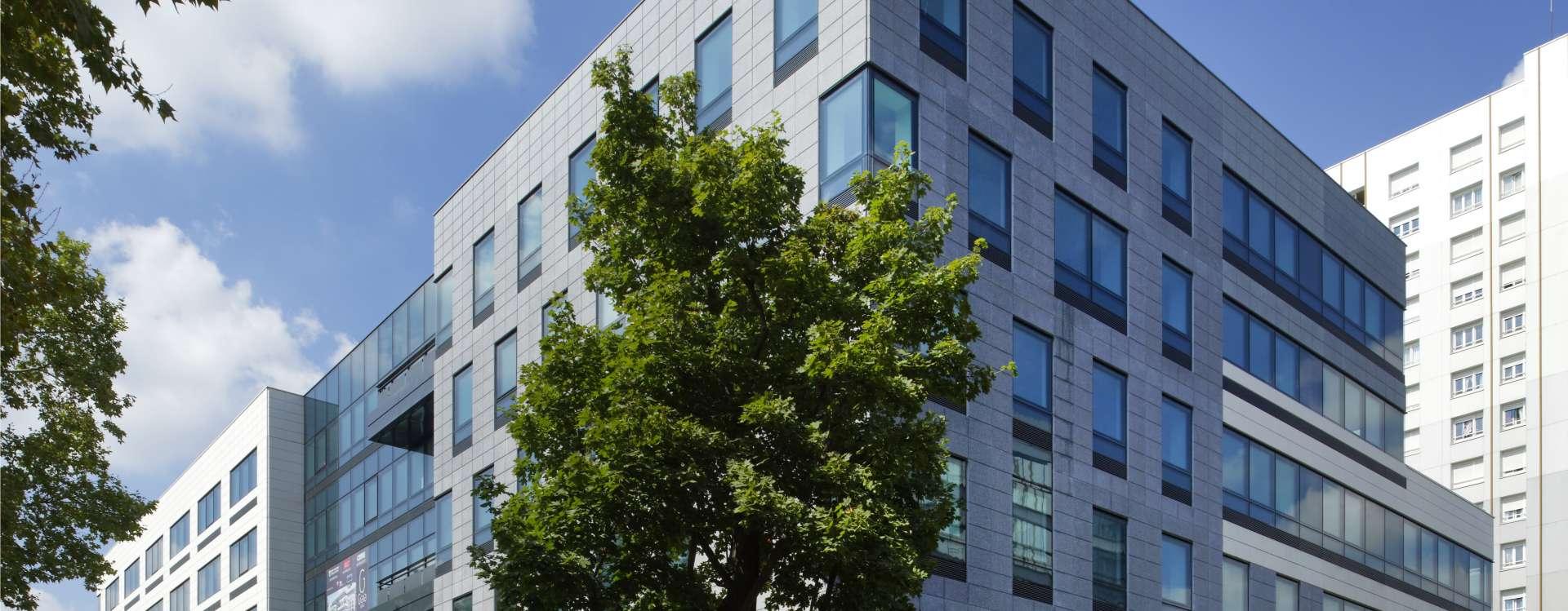 Gaïa in Nanterre, an 11,000 m² office building, including 4,000 m² under marketing