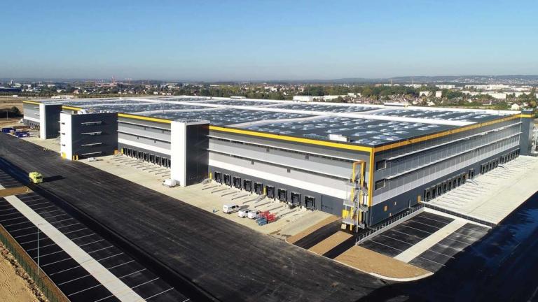 Plateforme logistique ORY4 de 150 000 m² à Brétigny-sur-Orge: GA Smart Building en action