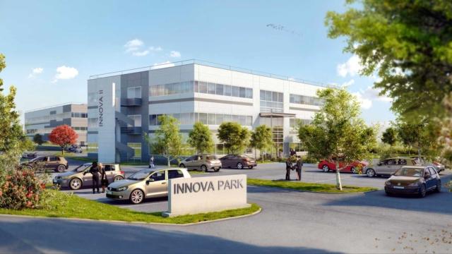 InnovaPark, 3 immeubles de bureaux à louer à Vaulx Milieu, en Isère