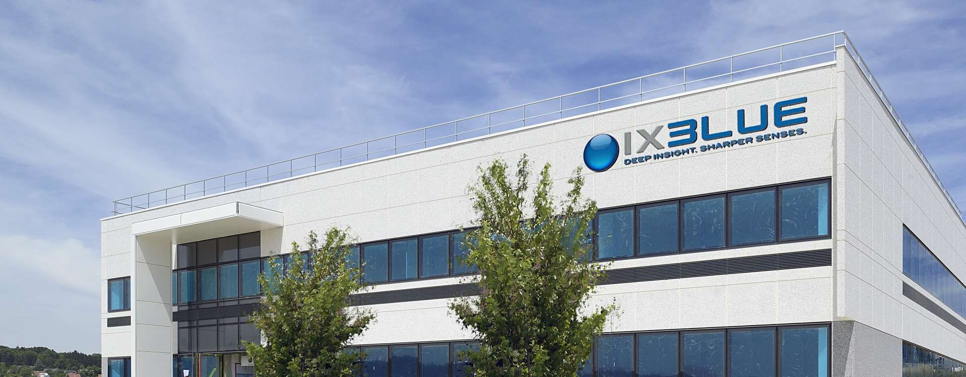 iXBlue in Besançon, the industrial building with high spatial technology