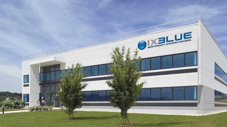 iXBlue à Besançon, le bâtiment industriel à haute technologie spatiale
