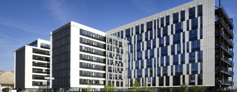 Luminem, CCMSA's corporate building in Bobigny