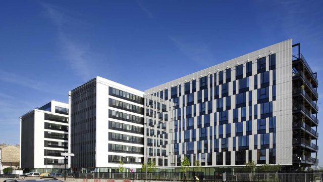 Luminem, CCMSA's corporate building in Bobigny