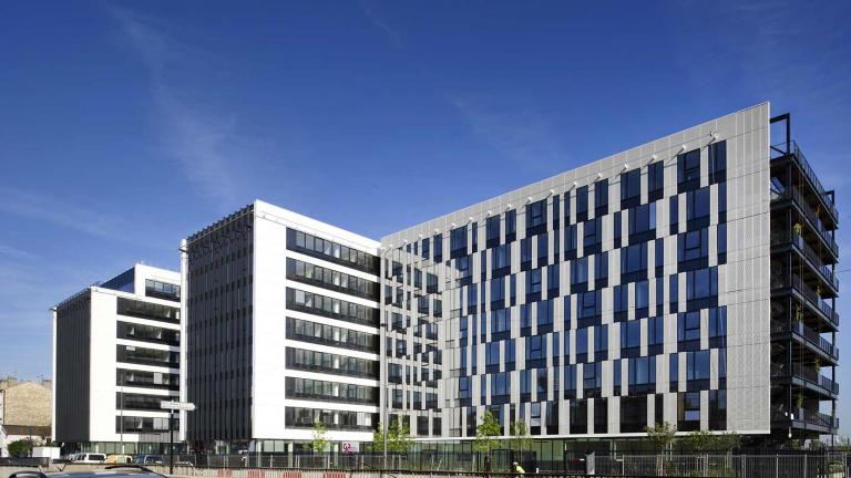 Luminem, l'immeuble d'entreprise de la CCMSA à Bobigny