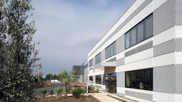 The Paredes logistics distribution platform by GA Smart Building