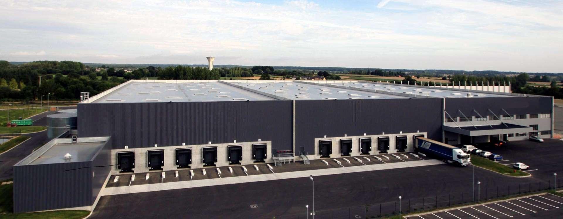 Logistics platform in Saint-Méen in Brittany, under commercialisation
