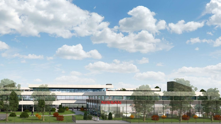 Hajimé, a new head office for Nissan Europe in Montigny-Le-Bretonneux