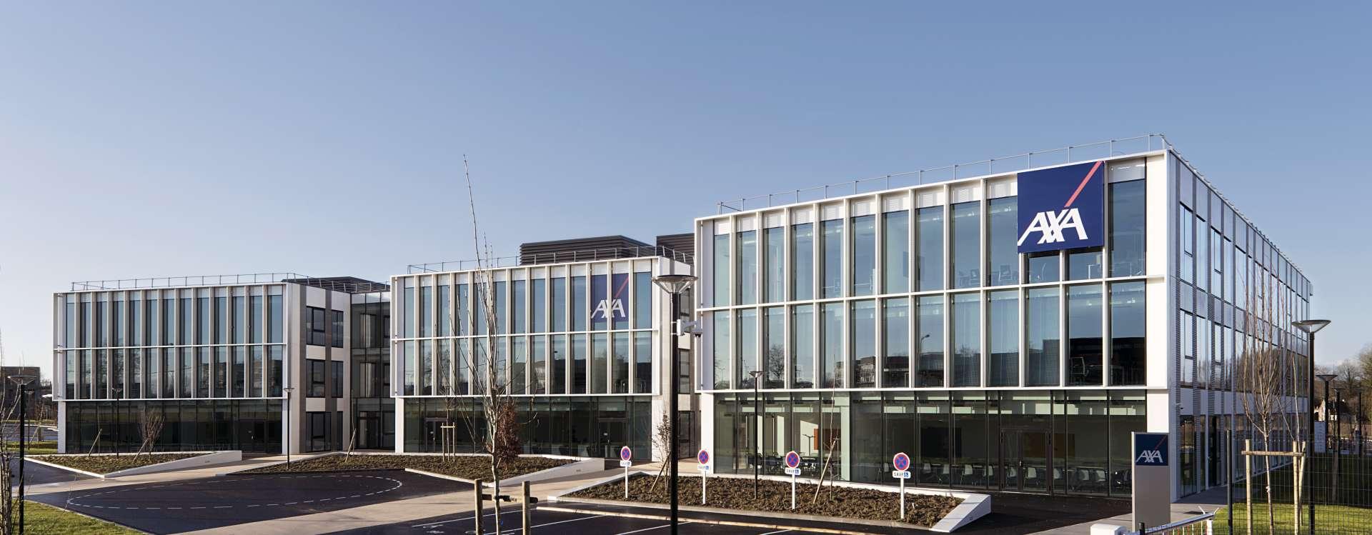 Sunny, AXA's 8,000 m² regional headquarters in Isneauville