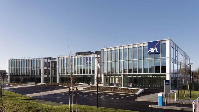 Sunny, le siège régional d'AXA de 8 000 m² à Isneauville