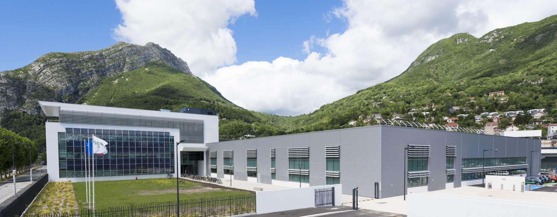 The Technopôle in Grenoble, GA business real estate, serving Schneider Electric