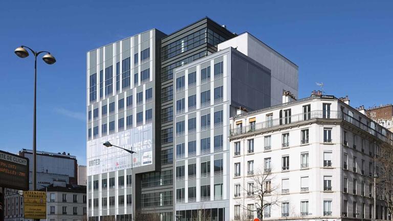 United à Clichy, 7 000 m² de bureaux d'entreprise sur un site très contraint