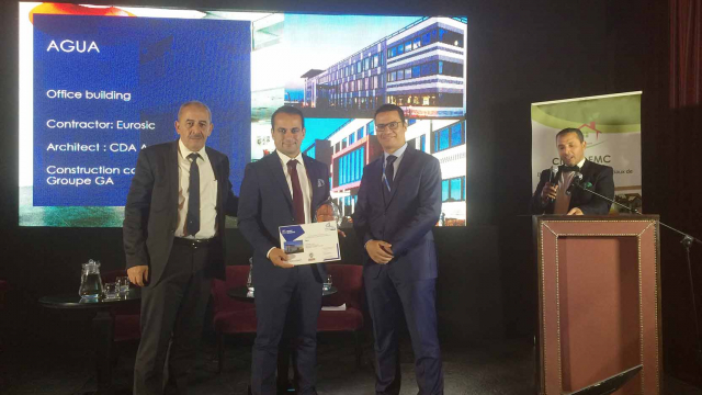 Green Building Solutions Awards 2016 : Agua remporte le prix international Smart Building