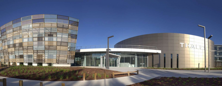 Le Groupe GA livre le Campus Thales à Bordeaux