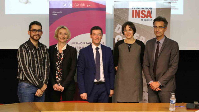 INSA Toulouse et the GA Group launch the teaching and research chair in «Innovation and Construction»
