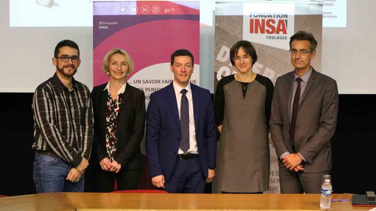 L'INSA Toulouse et le Groupe GA lancent la Chaire d'enseignement et de recherche «Innovation et Construction»