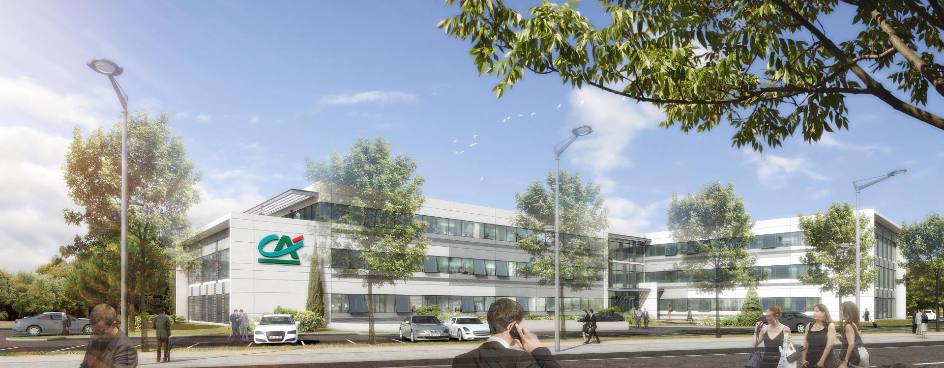 Crédit Agricole Immobilier et le Groupe GA s'associent pour la réalisation d'un nouvel immeuble de bureaux à Toulouse