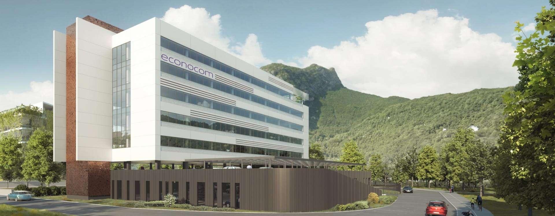 GA pose la 1ère pierre du nouveau centre d'expertise et de support digital d'Econocom à St-Martin-Le-Vinoux