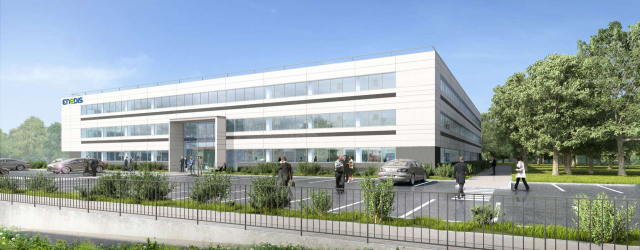 Groupe GA and Foncière des Régions lay the foundation stone of the future regional site of Enedis in Reims