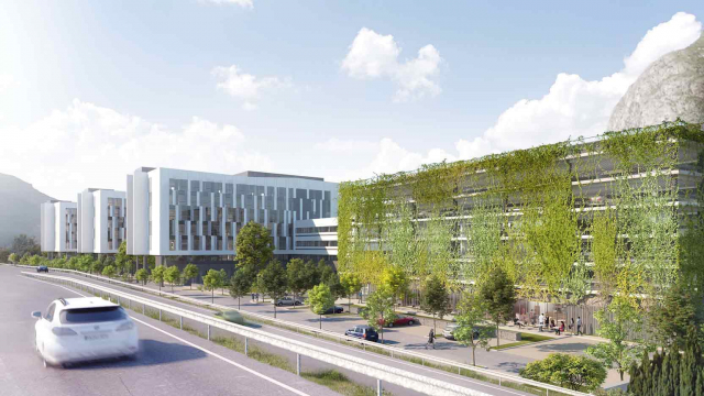 Groupe GA is to build a new property complex of over 25,000 m² destined to house the teams of the hydraulic division of EDF