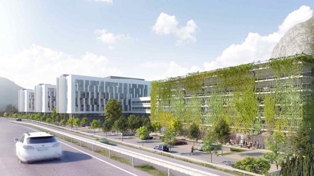 GA va réaliser un nouvel ensemble immobilier de 25 000 m², destiné à accueillir les équipes du Pôle Hydraulique d'EDF, à Saint-Martin-Le-Vinoux, près de Grenoble (38)