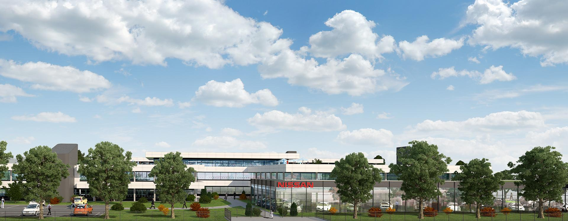 GE Capital Real Estate chooses the GA Group for the refurbishment of Hajimé in Montigny-Le-Bretonneux as the future headquarters of Nissan Europe SAS.