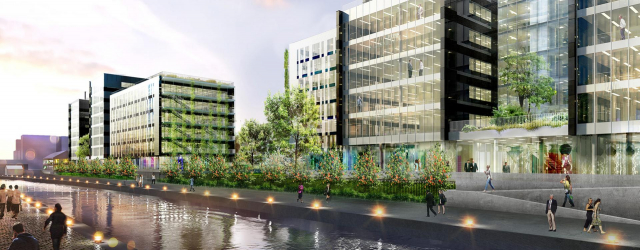 Séquano Aménagement signs a deed of sale with BNP Paribas Immobilier and the GA Group for 18,000 sqm of office space along the Canal de l'Ourcq in Bobigny