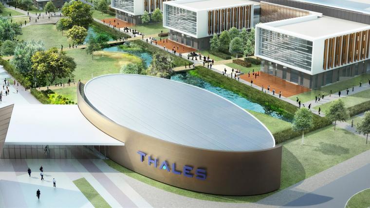 Le Groupe GA va réaliser un campus de 50 000 m² pour THALES