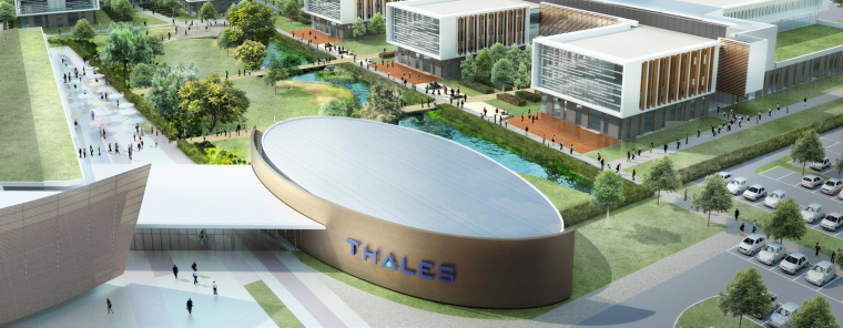 The GA Group to build a 50 000 m² campus for THALES