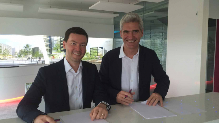 Open-innovation: the GA Group signs a partnership with IoT Valley