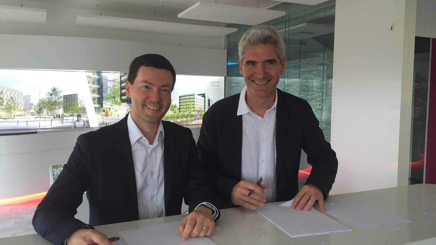 Open-innovation : le Groupe GA signe un partenariat avec l'IoT Valley