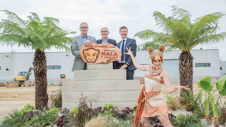Euro Disney launches the construction of a new 10,000 m2 building with GA Smart Building