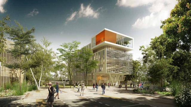Pitch Promotion et GA Smart Building viennent de signer la future réalisation du Campus Orange à Balma