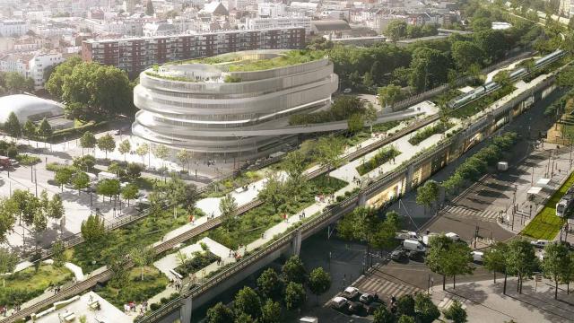 GA Smart Building, winner of Réinventer.Paris 2 with Cité Universelle