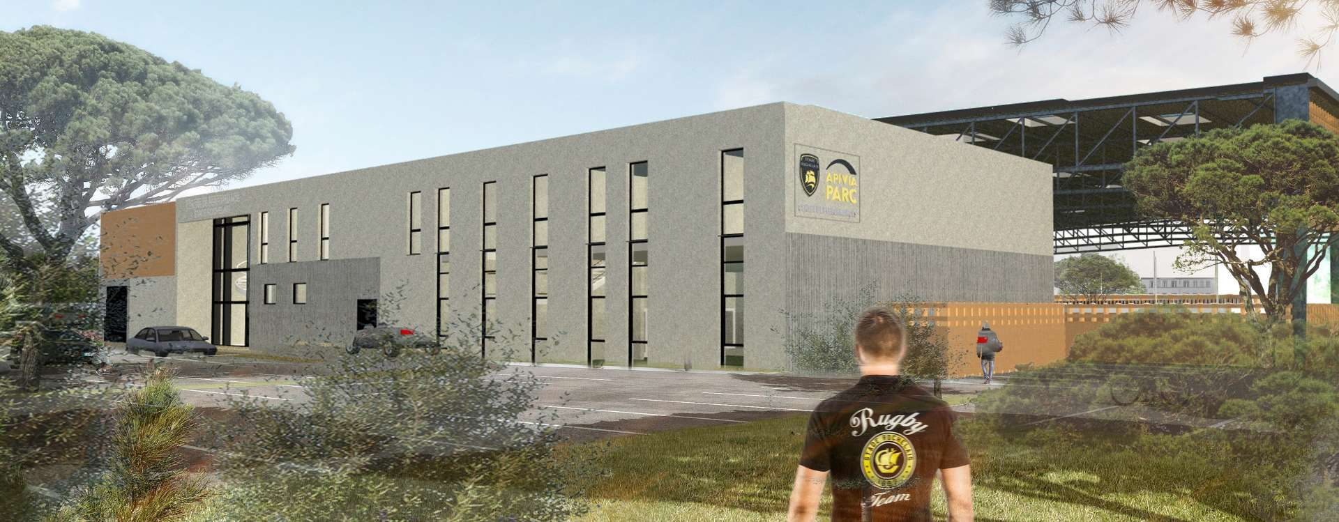 The GA Group builds the new performance centre of Stade Rochelais