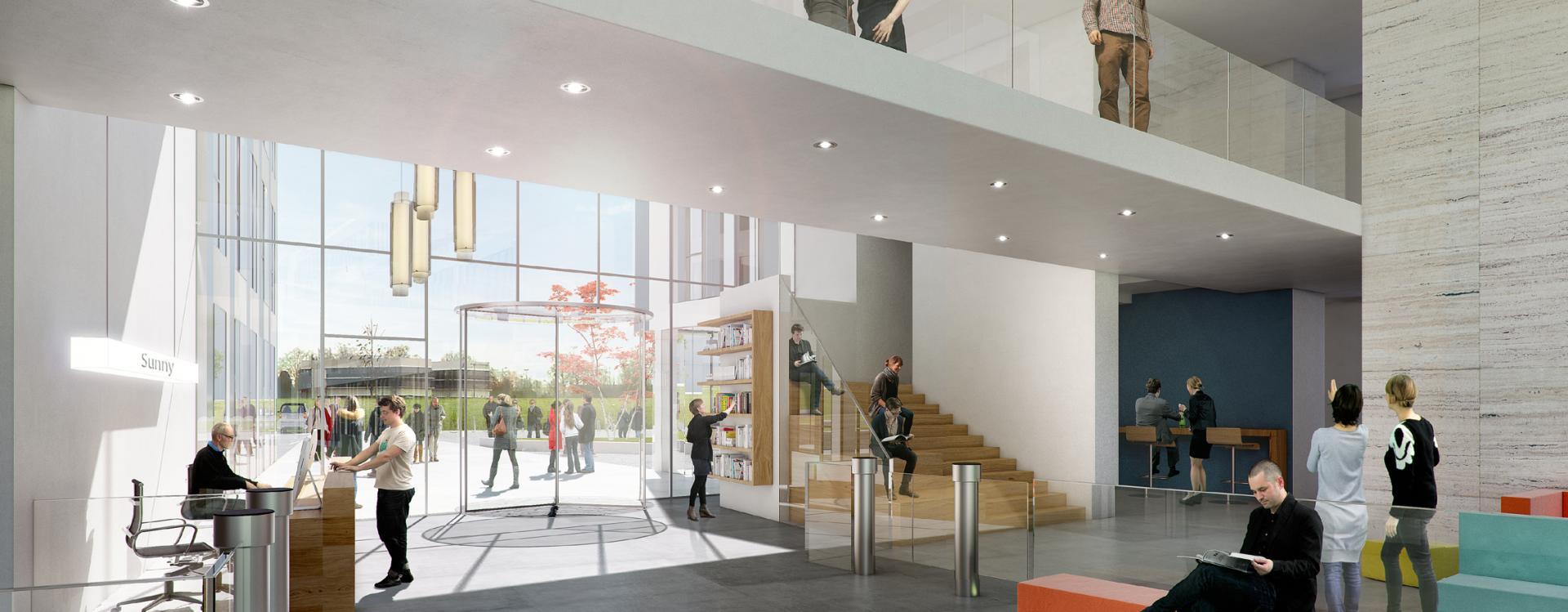 Le Groupe GA réalise le nouveau siège régional d'une grande compagnie d'assurance à proximité de Rouen (76)