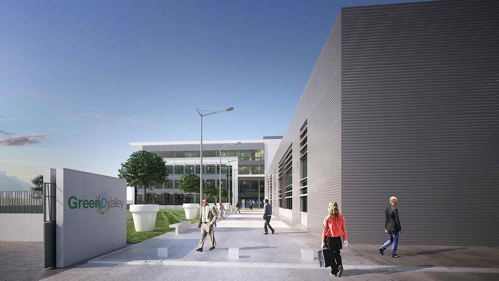 The GA Group launches construction of Technopôle, a new 18 500 m² property complex for Schneider Electric