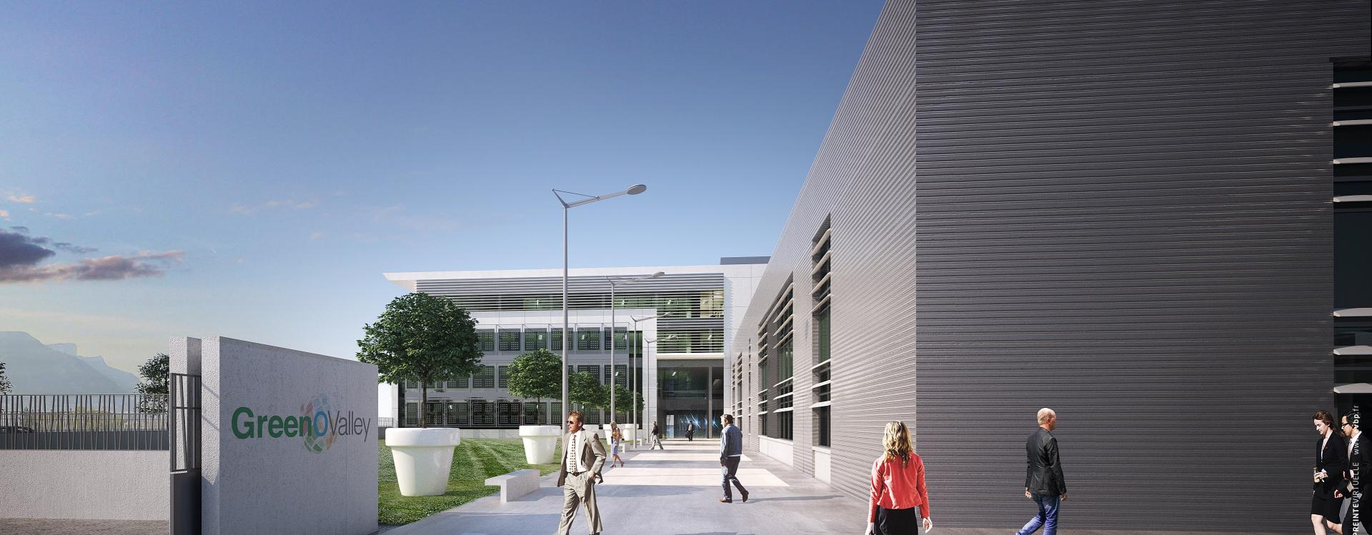 Le Groupe GA lance le Technopôle, les futurs bureaux de Schneider Electric à Grenoble