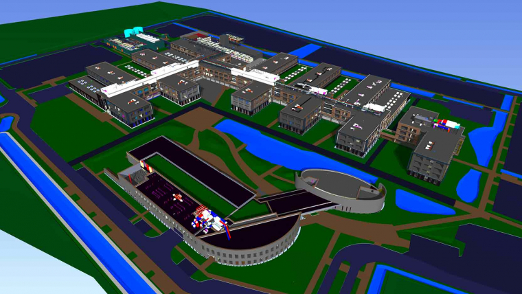 The GA Group wins the 2016 Tekla Global BIM Awards for the Thales Campus in Bordeaux