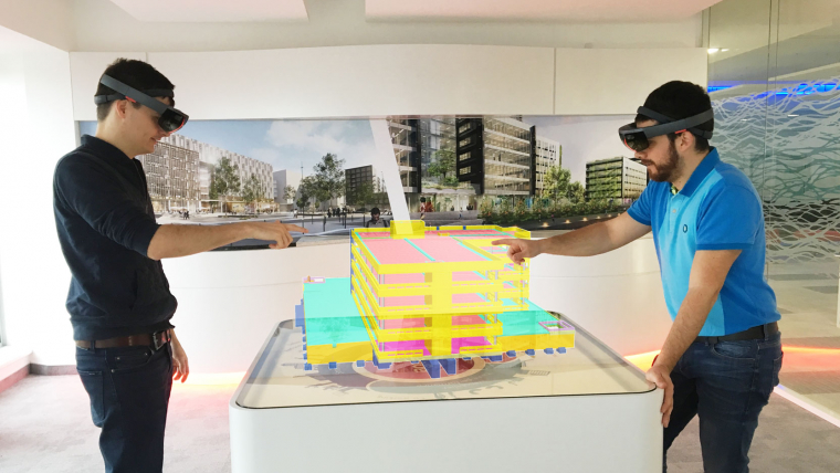Groupe GA and Trimble join forces to launch the first european Trimble Connect for Hololens (TCH) deployment project