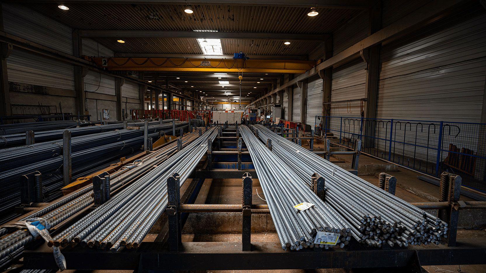 PREGA, usines de production de composants de structure et de façade