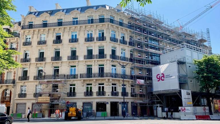 GA Smart Building to renovate 6,300 m² on Avenue George V in Paris